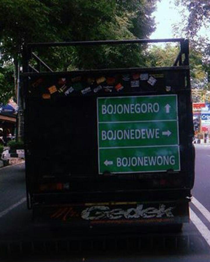 Antara Rumah hingga #Bojonegoro - #Bojonewong - #Bojonetonggo - #Bojonedewe.  Golek rejeki kanggo nguripi anak e wong.