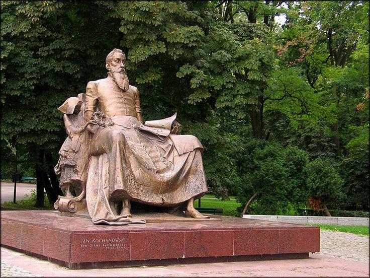 jan kucz, pomnik jana kochanowskiego w radomiu, 2006