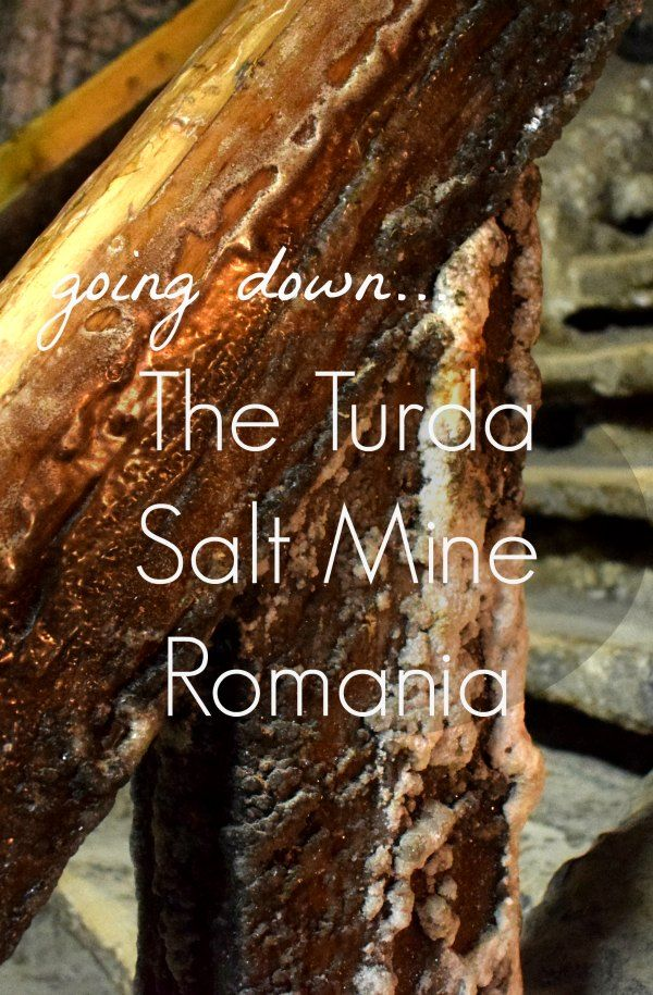 In the town of Turda in Transylvania there is a salt mine so incredible that you simply must visit. Amazing for kids, a playground, crazy golf, boat rides on Gollum's lake and a slice of history. Going down the Turda salt mine Romania.