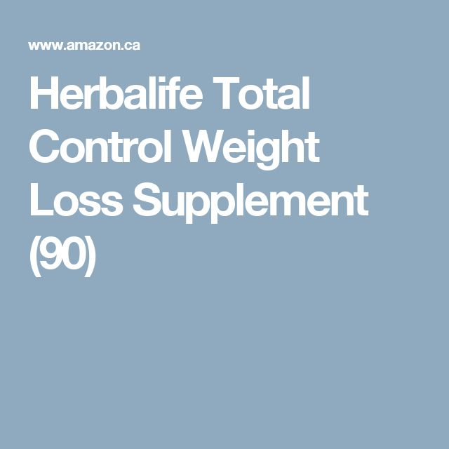 Herbalife Total Control Weight Loss Supplement (90)