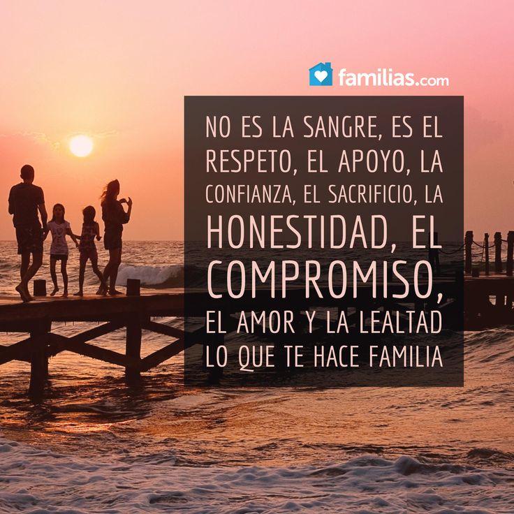 Yo amo a mi familia #familia #amor #frases www.familias.com