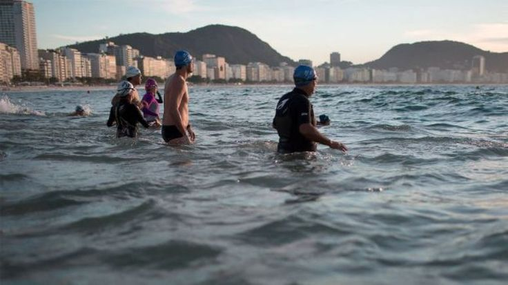 Rios polluted waters where Olympic sailing will take place next year will be in good shape by the time the Games start IOC President Thomas Bach said Tuesday.  What is important is that well have good conditions for the athletes where the competition is taking place Bach said in Rio de Janeiro where he is marking the 12-month countdown to the worlds biggest sporting event.  Bach said that an Olympic warm-up triathlon held over the weekend with competitors swimming off Rios Copacabana beach…