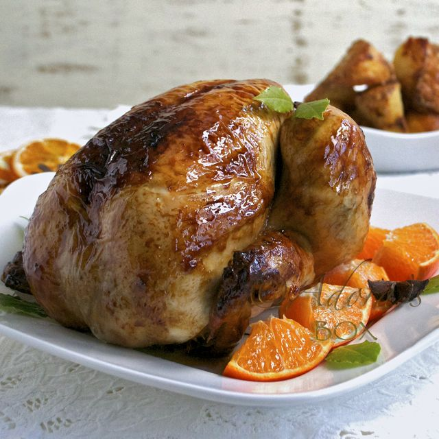 ADORA's Box: CHRISTMAS SPICED ROAST CHICKEN | Get In My Belly ...