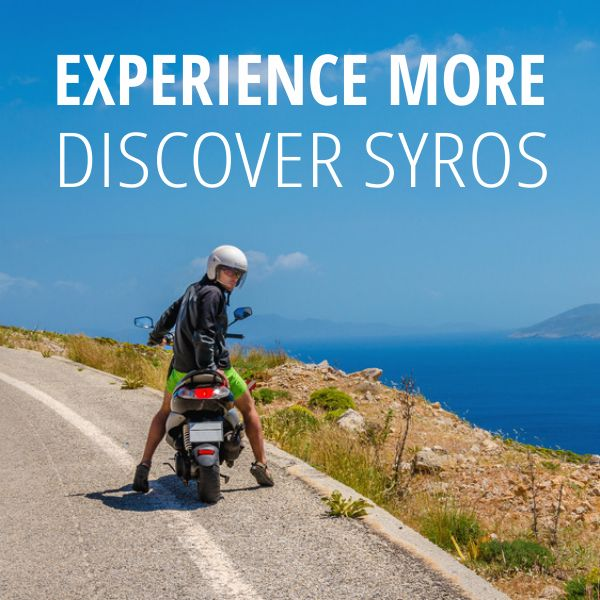 Experience more - Discover Syros ... by scooter