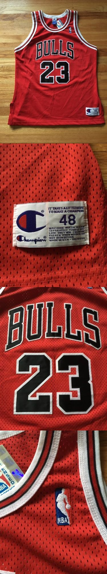 Basketball-NBA 24442: Champion Authentic Jordan Bulls Jersey Size 48 Nwt Pippen Chicago -> BUY IT NOW ONLY: $325 on eBay!