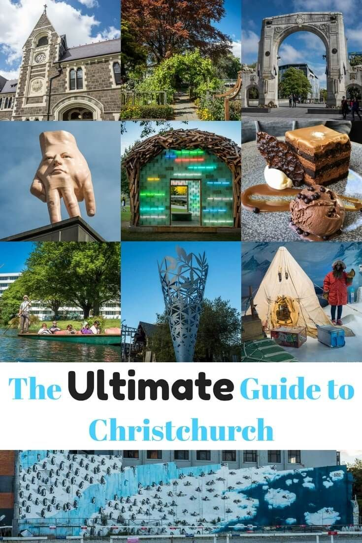 Despite the earthquake damage, there are so many things to do in Christchurch New Zealand. Read the article for more fun and free activities, wildlife encounters, memorials, and much more.  #travel #NewZealand #Christchurch