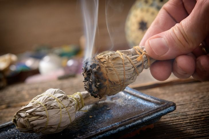 """Due to all of our electronic gadgets, including computers, TVs, washing machines and the like, as well as carpet and upholstery, our homes have become what some describe as """"positive ion prisons."""" That's why negative ions that occur from smudging can be so beneficial in counteracting these effects. Smudging your home, office, or even your body is kind of like taking an energetic shower, or…   [read more]"""