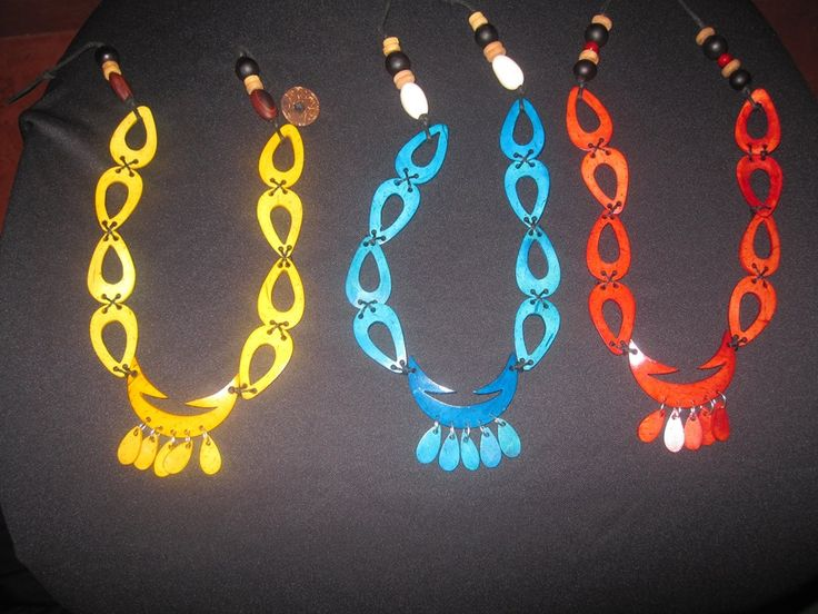 Coconut Necklaces