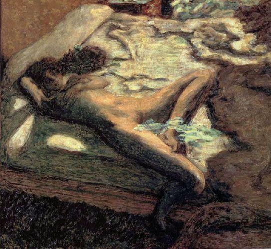 Пьер Боннар. «Праздная женщина»