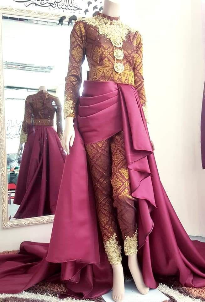 Baju Puteri Perak Traditional Dresses Designs Nikah Outfit Traditional Dresses