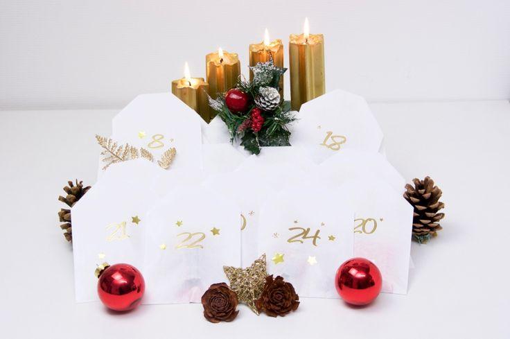 Adventskalender voll gefüllt mit tollen Schmuckstücken!