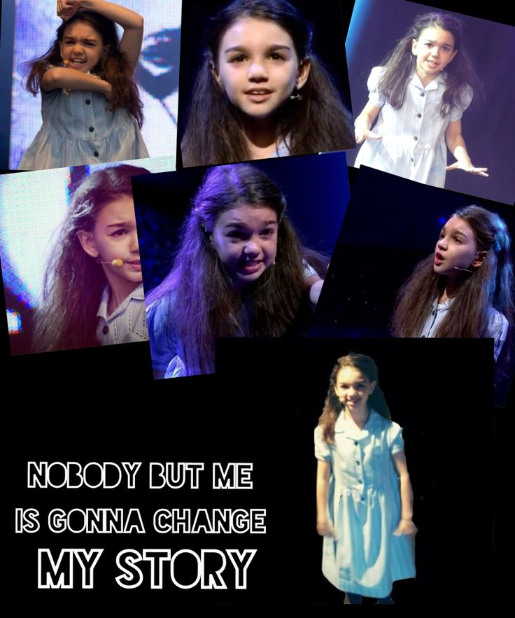 My matilda the musical edit, Elise Blake! Credit to @Isabelle Choi Daglish