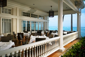 The Moana Surfrider on Waikiki Beach.  I've never been to Hawaii, but when (not if) I go, I have to stay here.
