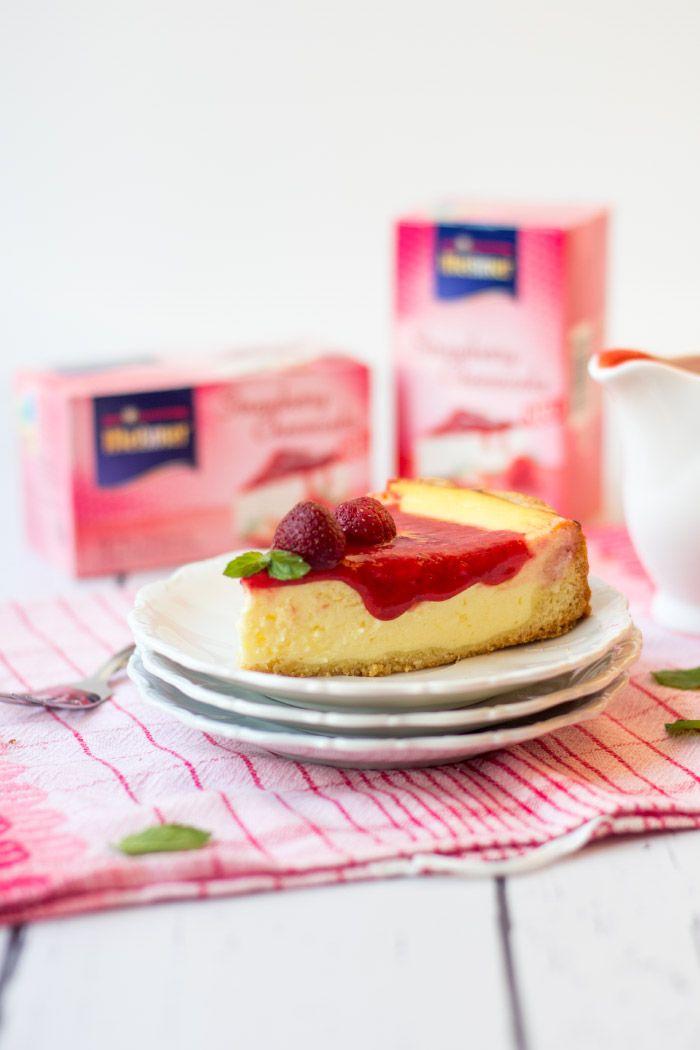 Strawberry Cheesecake mit Meßmer Kuchentee