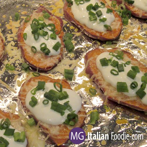 Double Baked Sweet Potato Slices make a great side dish but they could also be made as an appetizer. They're easy to prepare and make a great side dish with a sandwich or burger. The sweet potatoes should be sliced … Continue reading →
