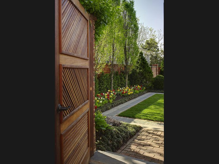 Graham Landscape Architecture › Projects › Residential » Georgetown Residence » Elements of an existing garden and the homeowners desire for a variety of spaces to entertain was the beginning of this design as a series of finely detailed garden rooms.