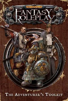 Warhammer Fantasy Roleplay Adventurer's Toolkit   Book cover and interior art for Warhammer, Warhammer Fantasy Roleplay, and Warhammer Living Card Game - Warhammer, WH, WFRP, WHFRP, WH LCG, Roleplaying Game, Role Playing Game, RPG, Games Workshop Limited, Ltd., Fantasy Flights Games, FFG, Fantasy Flights Publishing Inc.   Create your own roleplaying game books w/ RPG Bard: www.rpgbard.com   Not Trusty Sword art: click artwork for source