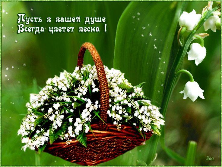Картинки с весенними цветами красивые с надписями, открытка