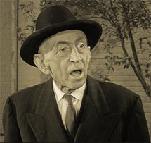 Will Wright as Ben Weaver from The Andy Griffith Show of March 5, 1962, which aired three months before Will Wright's passing