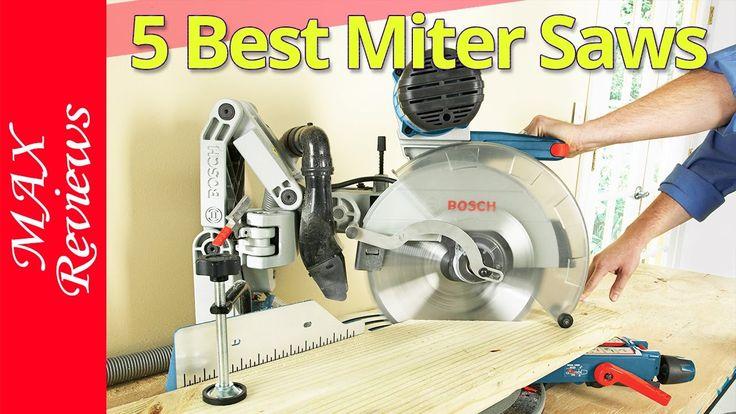 Best Miter Saws 2017?  Best Miter Saw Reviews https://youtu.be/YdjHsXspvJI