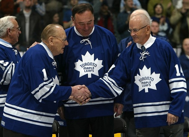 Leafs Legends: Dave Keon, Frank Mahovlich and Johnny Bower