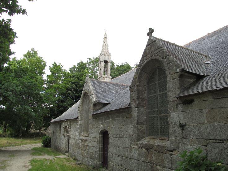 chapelle de Trémalo à Pont Aven, Bretagne, France.