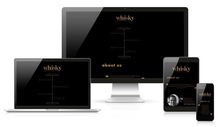 """Przejrzyj mój projekt w @Behance: """"Whisky Quarterly""""…"""