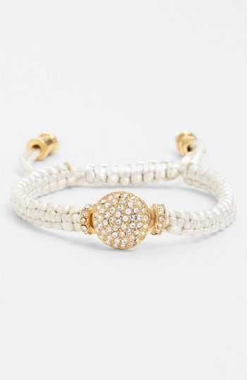 Vince Camuto Macramé Bracelet available at #Nordstrom