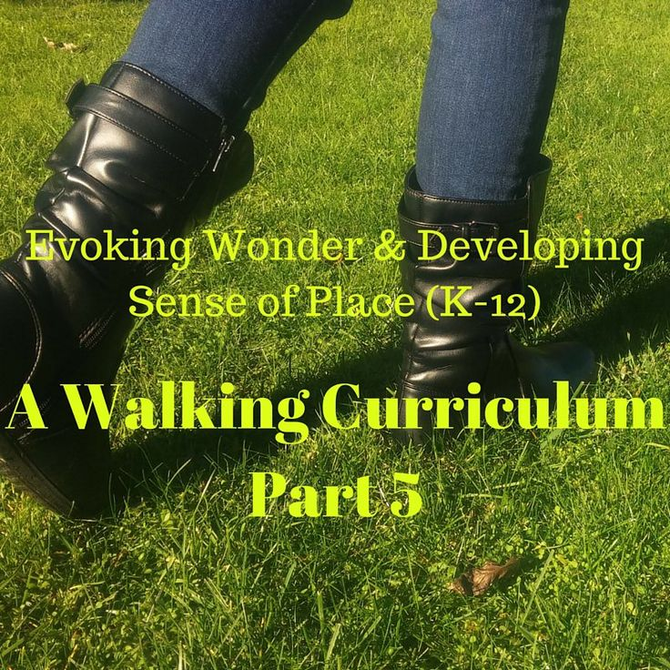 A Walking CurriculumPart 5