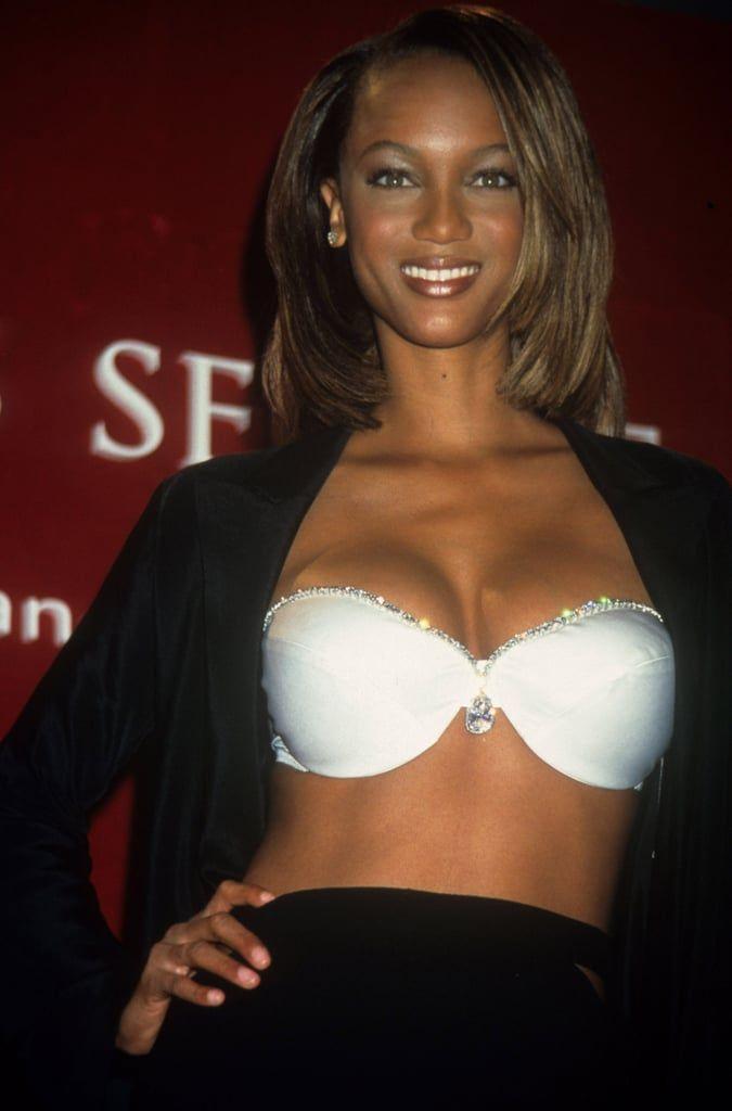 1997 Tyra Banks In The Diamond Dream Bra Fantasy Bra Tyra