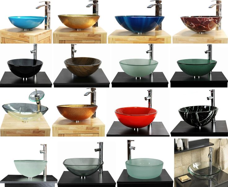 Bathroom Sinks On Ebay best 25+ glass basin ideas on pinterest | modern powder rooms