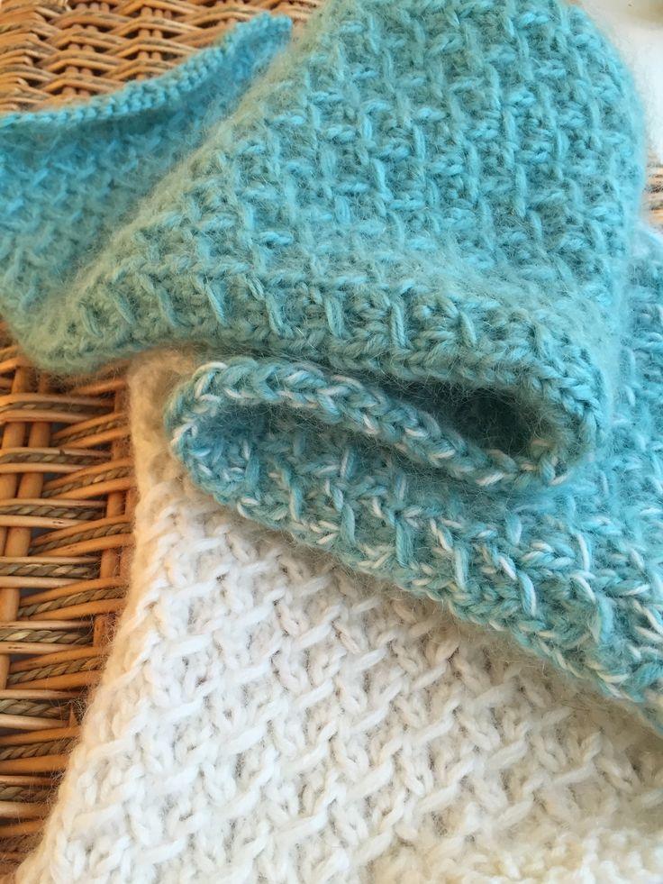 Fuzzy Ombre Scarflet A Free Pattern From Alaska Knit Nat
