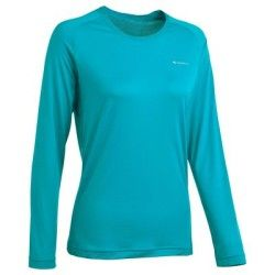 T-shirt Randonnée, Camping - TSHIRT TECHFREH 50 L ML QUECHUA - Vêtements randonnée