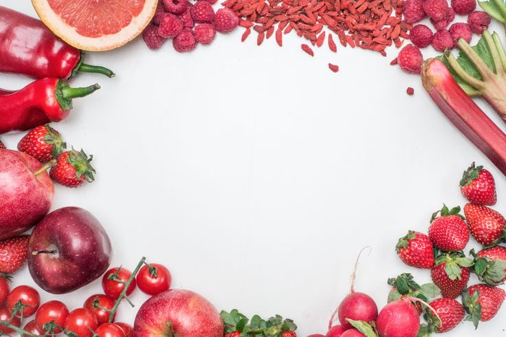 fruits vegetables strawberries apples red delicious peppers grapefruits raspberries tomatoes food whitespace