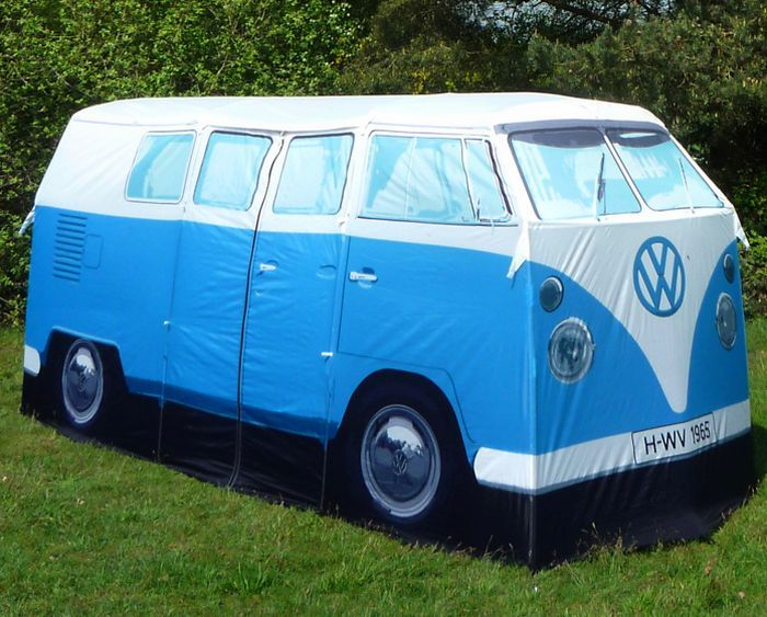 If i had this VW tent, I might actually consider camping.