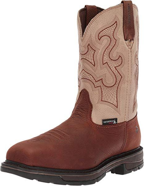 958b5e9007566 Amazon.com: Wolverine Men's Lariat Waterproof Steel Toe Work Boot ...