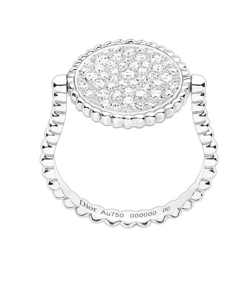 Et si on s\u0027offrait une montre couture avec la D de Dior Satine ? Bague Rose  des vents