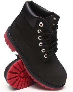timberland boots toddler black
