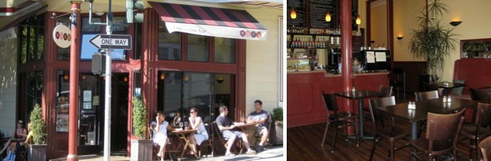 Nook - Cafe - San Francisco | Located at the corner of Hyde Street and Jackson on Russian Hill.  The perfect spot to relax with a cup of coffee and watch the cable cars run by.