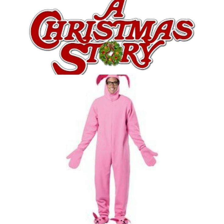 Pink Bunny Suit from the Classic Christmas movie A Christmas Story  https://www.amazon.com/gp/aw/d/B01IPJS1R6  This great bunny suit with attached bunny ear hood and bunny feet!  Adult standard fits sizes 42-48.  Contact us at 585-482-8780 for more information or check out select costumes and accessories on our Amazon page or website www.arlenescostumes.com  #christmasstory #pinkbunny #ralphie #christmas