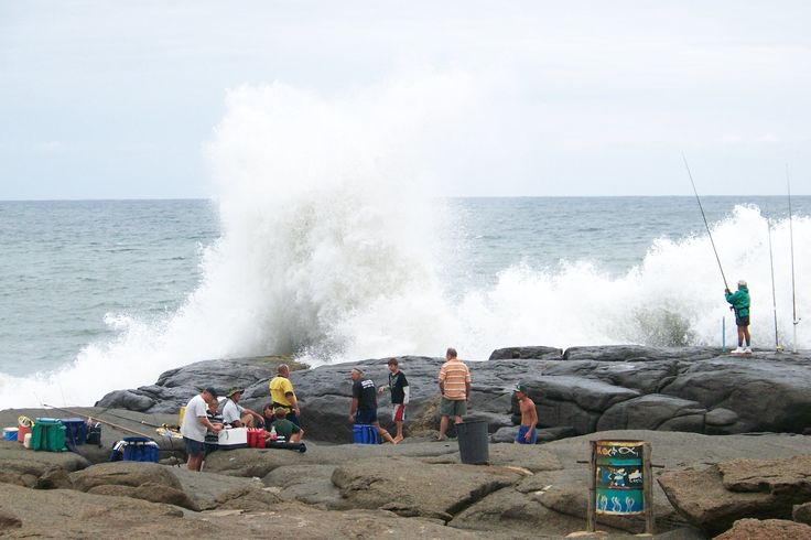 Splash rock, Port Edward - South Africa (many happy memories with friends)
