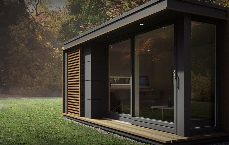 Each pod is fitted with floor to ceiling Scandinavian windows and doors, which are highly insulated and meant to connect the inside to the landscape outside. The windows also flood the pods with light, in case the client doesn't want to electrify their escape space.