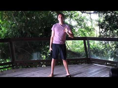 Kettlebell Routine you can do w/one 20kg Kettlebell (or lighter). Clean, Squat, Press.