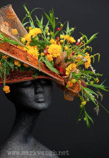 There is a new trend of incorporating flowers into clothing