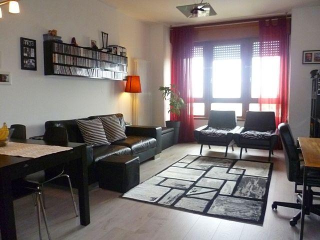 Geometrie e linee moderne nell'appartamento che proponiamo a Padova. Per info: info@pianetacasapadova.it, o 049/8766222.