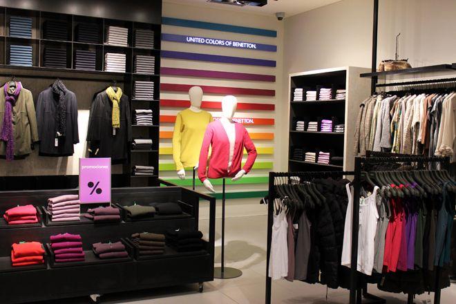 Nueva tienda Benetton Costanera Center | Chile