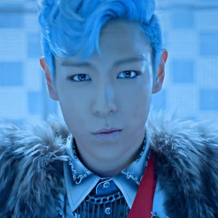 Top blue hair gif