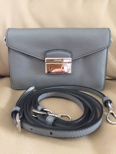 Details about PRADA Women s Authentic NEW Red Leather Saffiano Lux ... bdf4bdc8c1464