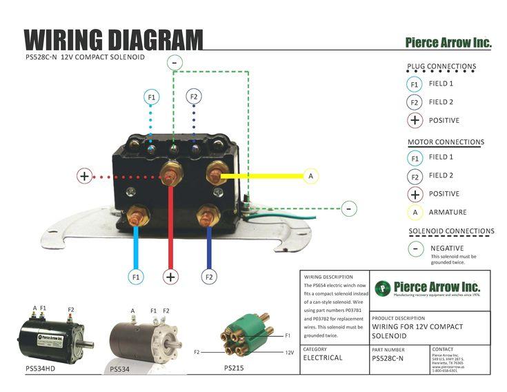 Unique Winch Contactor Wiring Diagram