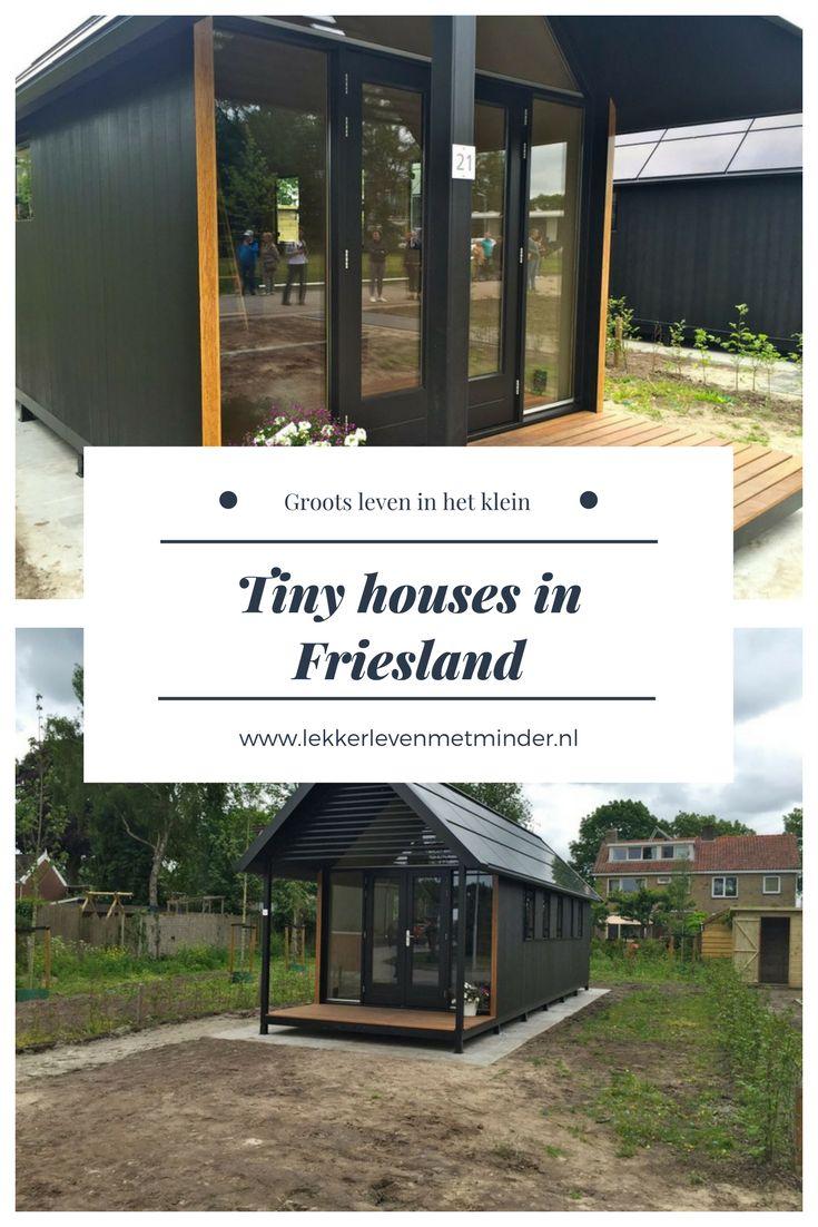 Tiny Houses zijn niet alleen groots in het buitenland, ook in Nederland kunnen we er wat van. In Friesland is er zelfs een heuse straat met Tiny Houses!